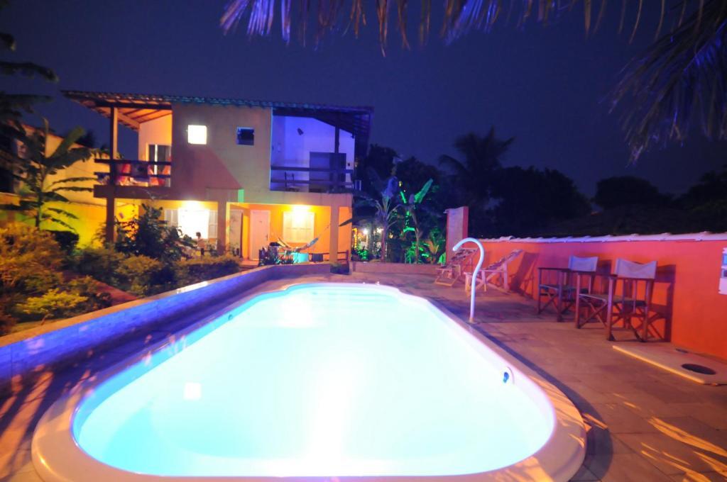 The swimming pool at or near Pousada Bella Geriba Buzios
