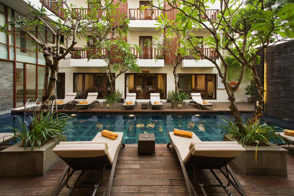 The swimming pool at or near Sense Hotel Seminyak