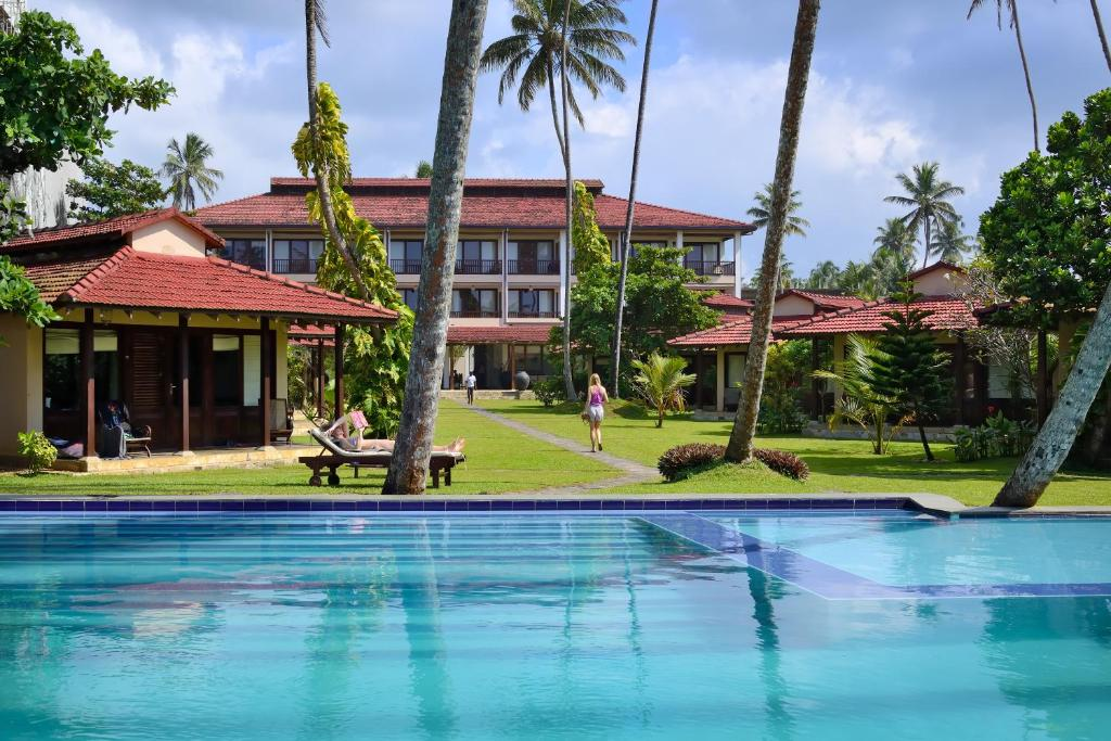 The swimming pool at or near Weligama Bay Resort