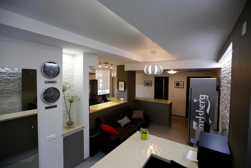 A bathroom at Hostel U Vokzala Brandson