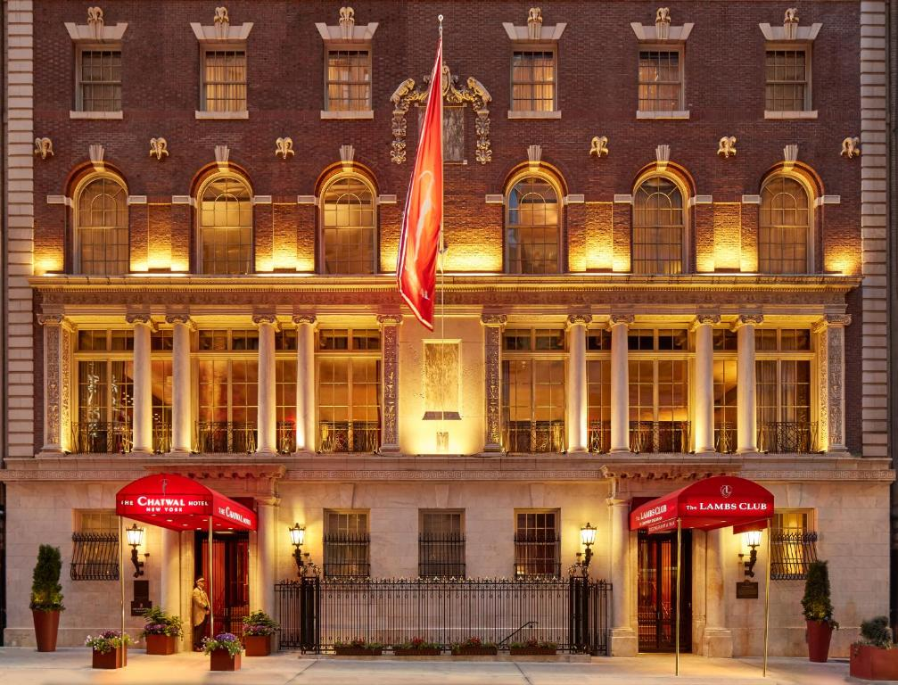 Hotels In New York City >> The Chatwal A Luxury Collection Hotel New York City New