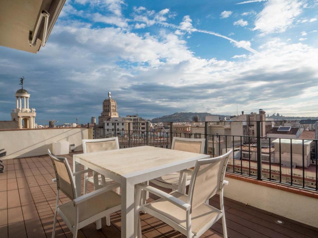 Rambla Cataluña Terrace Apartment Barcelona