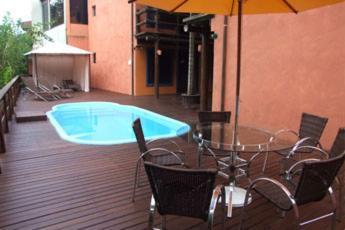 A piscina em ou perto de Hotel Pousada Dona Laura