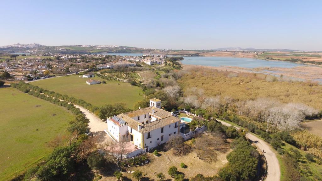 Hacienda el Santiscal a vista de pájaro