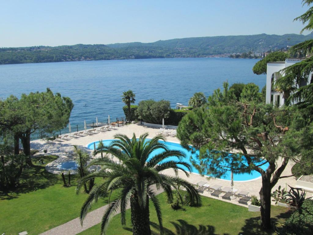 A view of the pool at Hotel Spiaggia d'Oro - Charme & Boutique or nearby