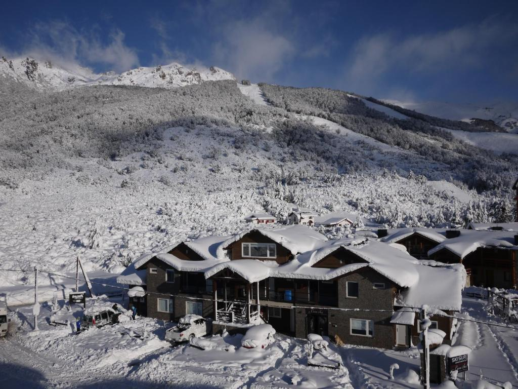 Ski Sur Apartments durante el invierno