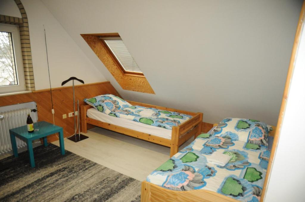 Lova arba lovos apgyvendinimo įstaigoje Hannover Messe Zimmer