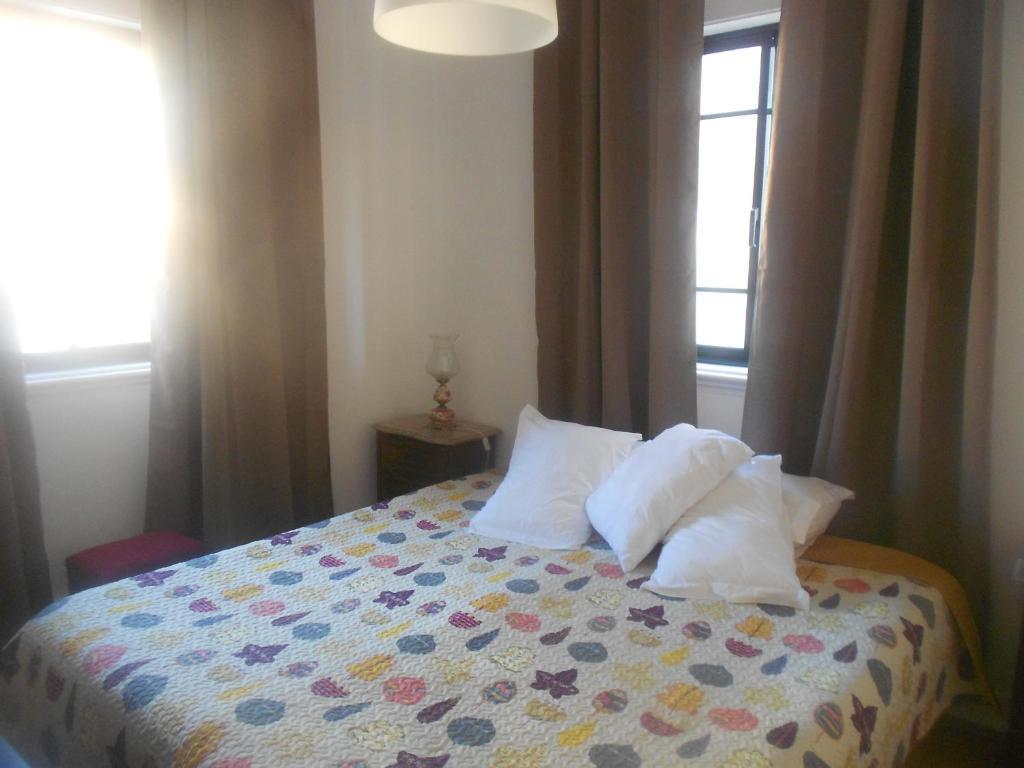 Uma cama ou camas num quarto em Arrábid'In ! Hostel