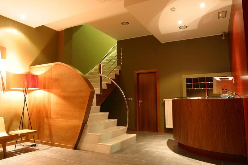 The lobby or reception area at AB Murias Blancas