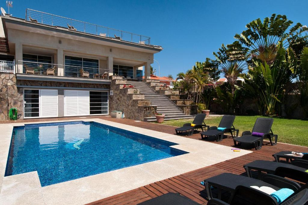 Superb Family Villa in Sonnenland f, Maspalomas, Spain ...