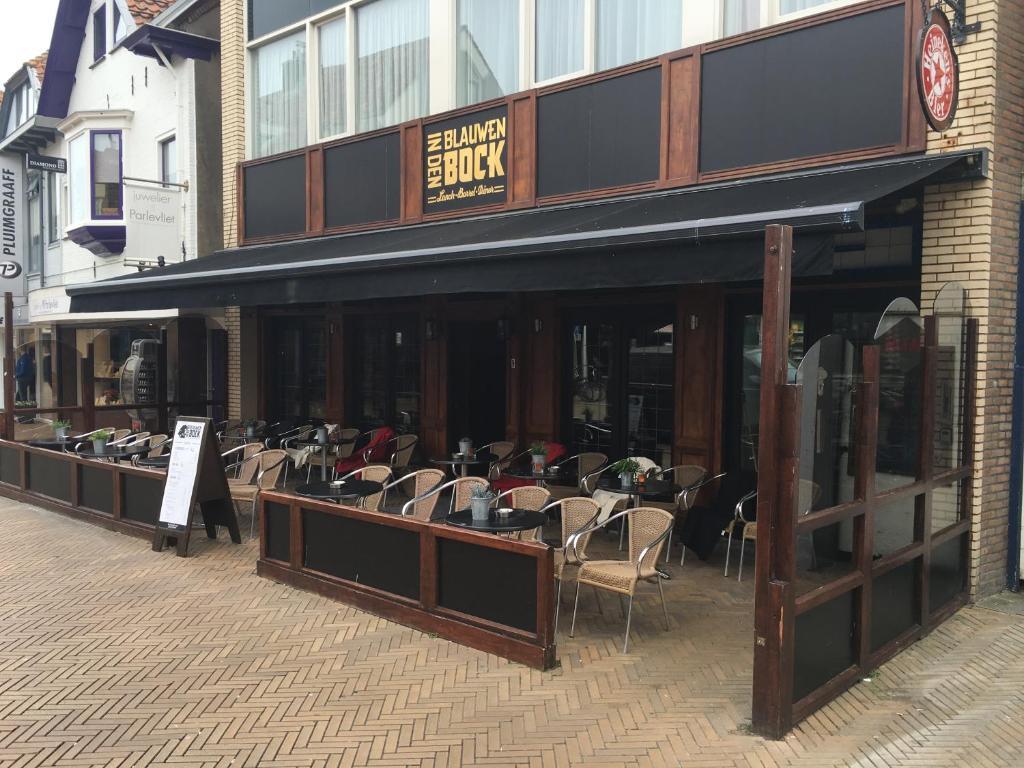 Een restaurant of ander eetgelegenheid bij Beach Hotel Katwijk