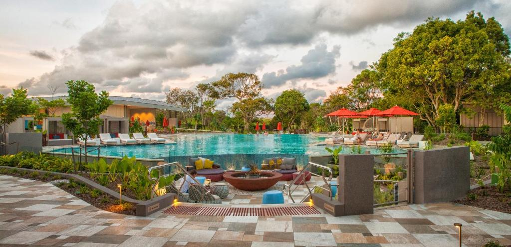 The swimming pool at or near Elements Of Byron - MGallery by Sofitel