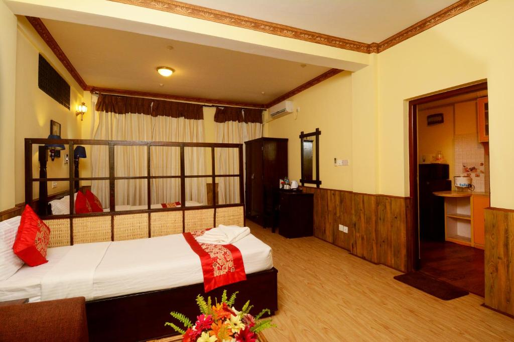 Camera di Dream Nepal Hotel and Apartment