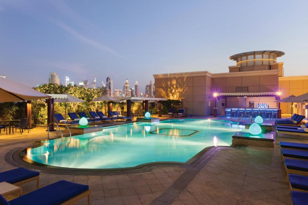 The swimming pool at or near Ramada by Wyndham Jumeirah Hotel