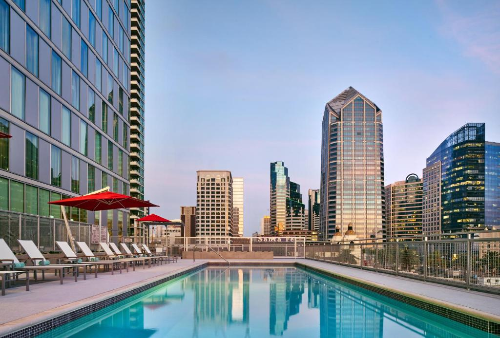 The swimming pool at or near Residence Inn by Marriott San Diego Downtown/Bayfront