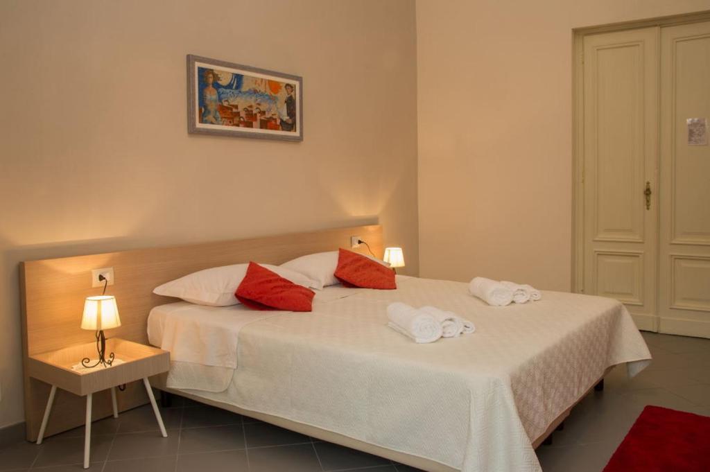 Letto o letti in una camera di Locanda Villa Cavalleri