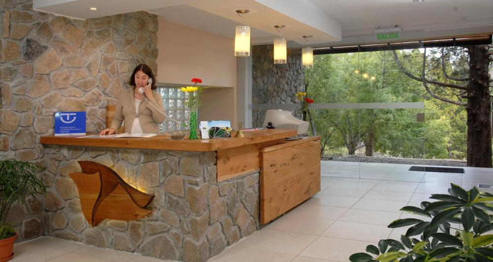 The lobby or reception area at Las Nalcas Boutique Hotel & Mountain Spa