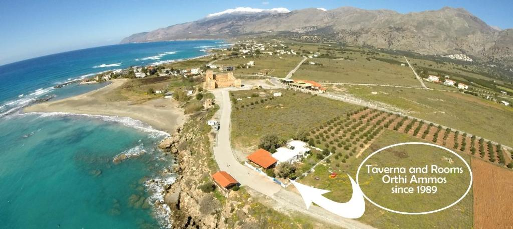 A bird's-eye view of Orthi Ammos