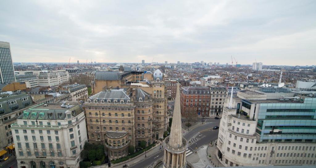 A bird's-eye view of Saint George's Hotel