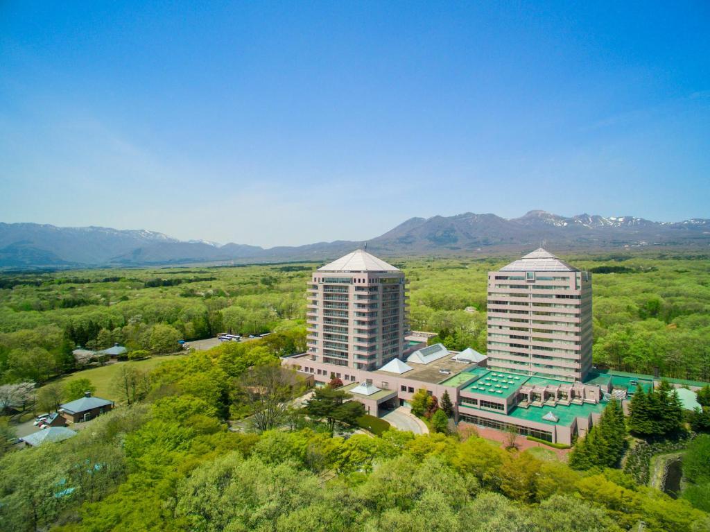 A bird's-eye view of Hotel Epinard Nasu