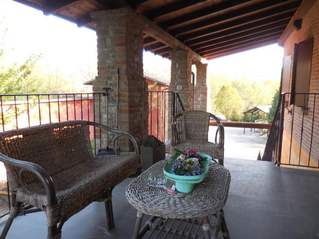 Balcone o terrazza di La Garrocha