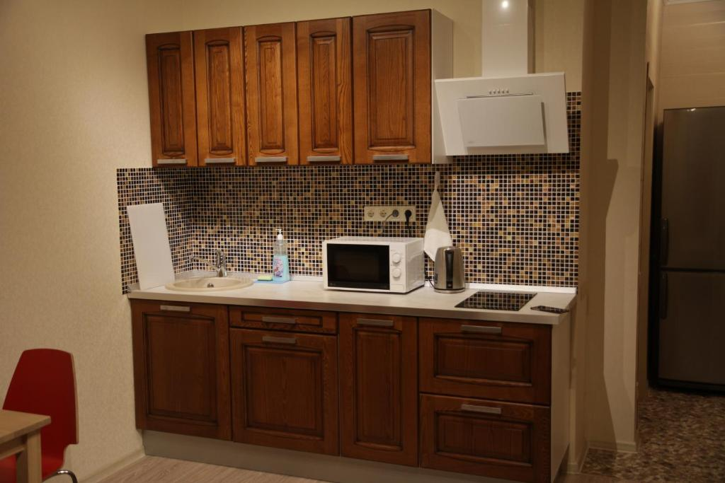 A kitchen or kitchenette at Apartment Central Park