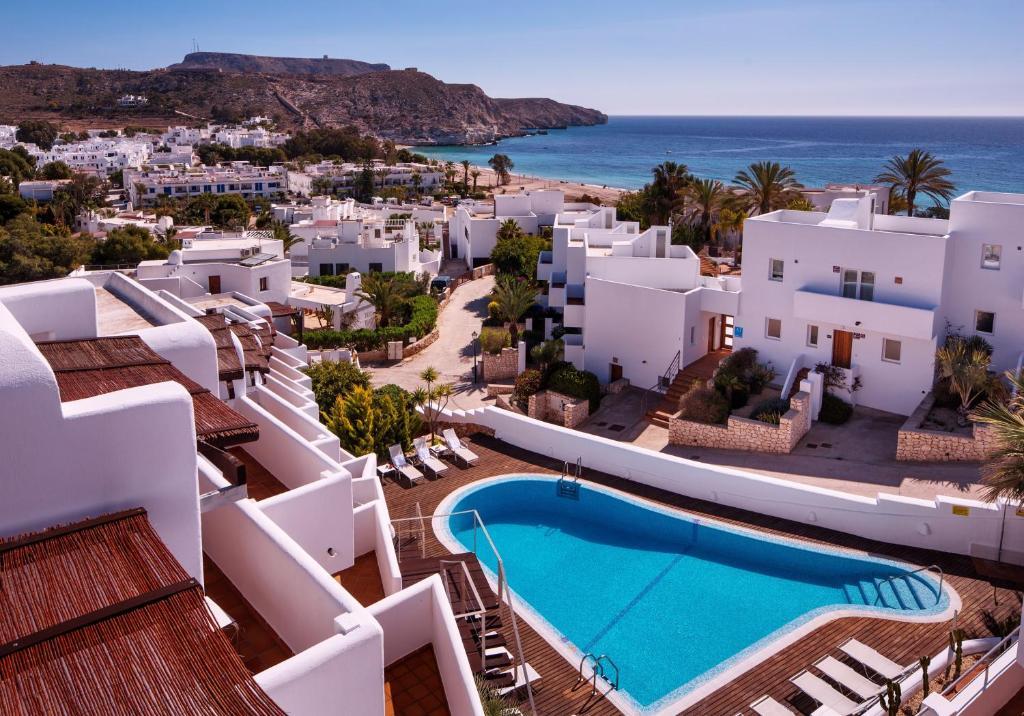 Vista de la piscina de Boutique Hotel El Tio Kiko o alrededores