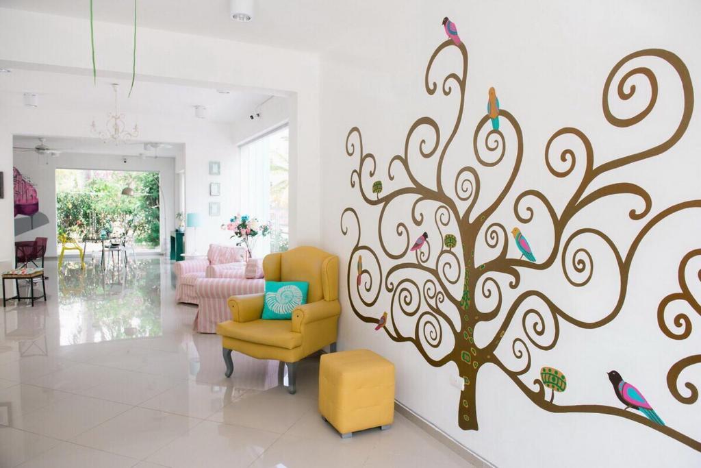 The lobby or reception area at Art Villa Dominicana