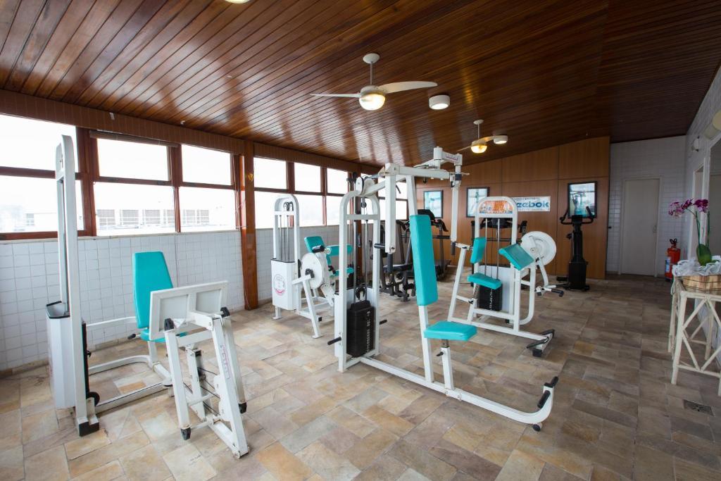 Gimnasio o instalaciones de fitness de Augusto's Copacabana Hotel