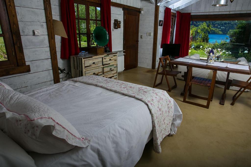 Una habitación de Villa Constancia
