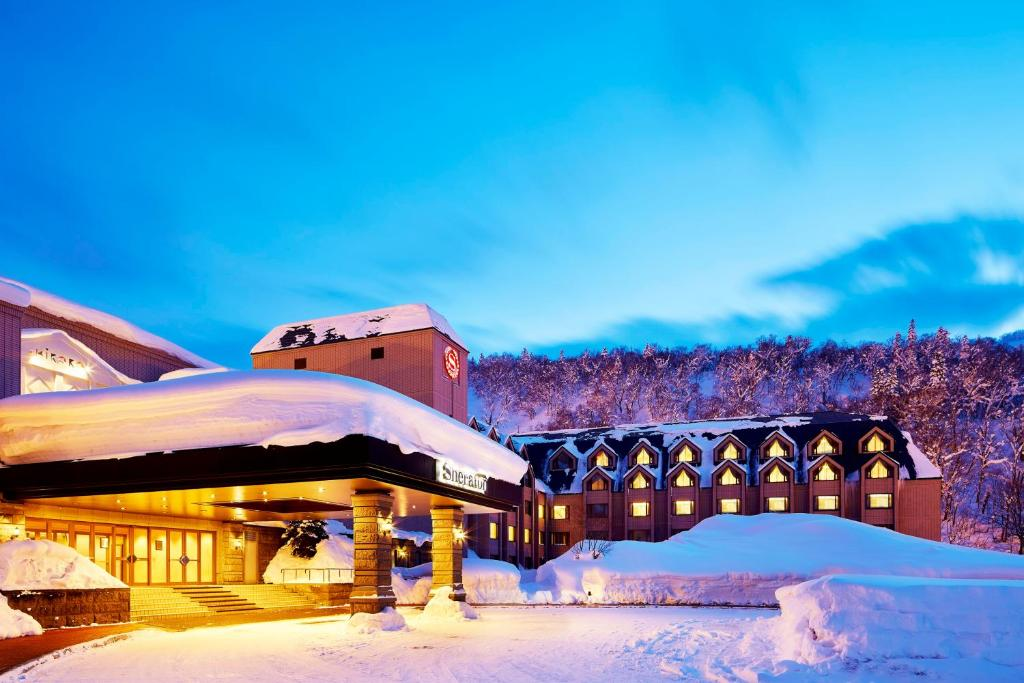 Sheraton Hokkaido Kiroro Resort during the winter