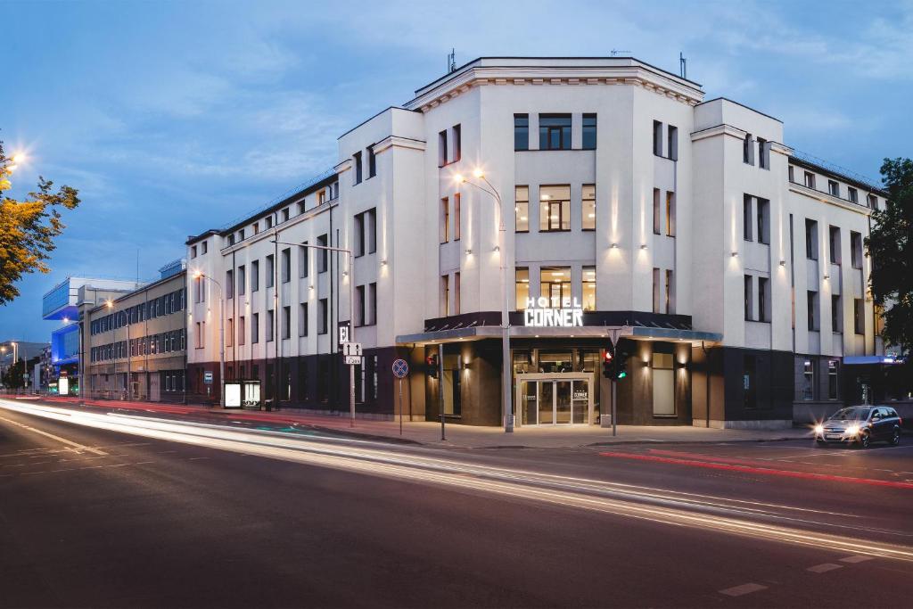 Pastatas, kuriame yra šis viešbutis