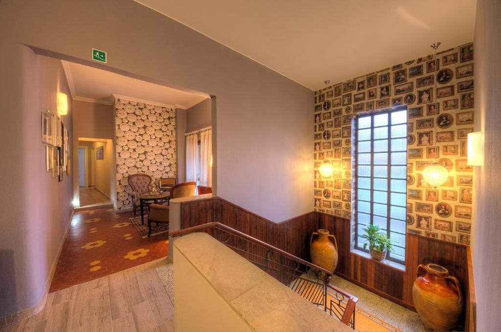 Area soggiorno di Hotel Ristorante Bologna