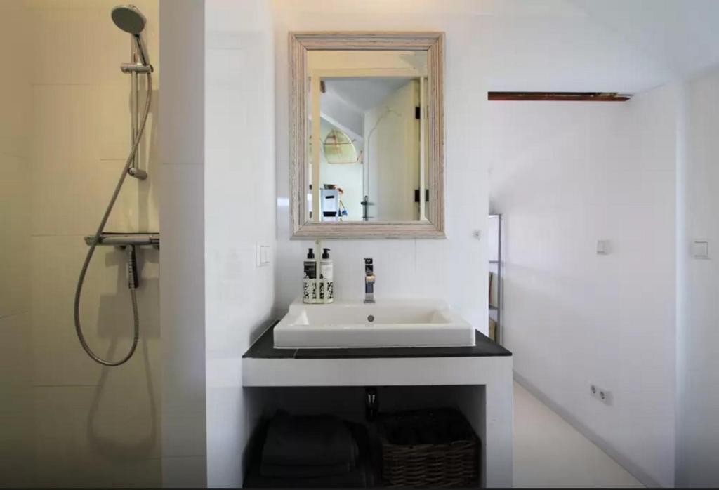 Ein Badezimmer in der Unterkunft Beachview Apartment