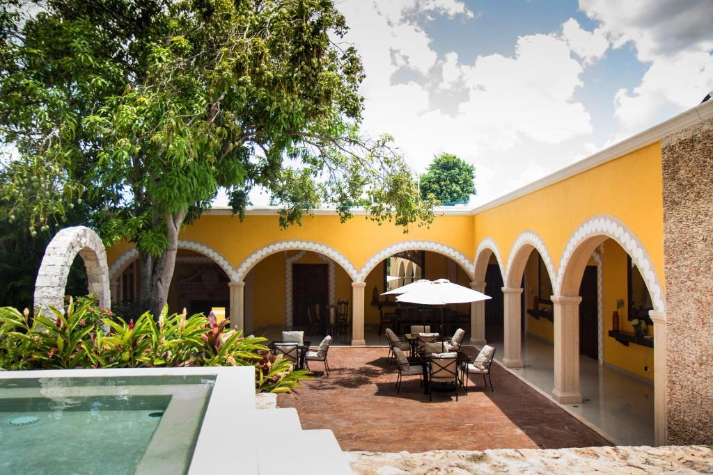 A porch or other outdoor area at Villa San Antonio de Padua