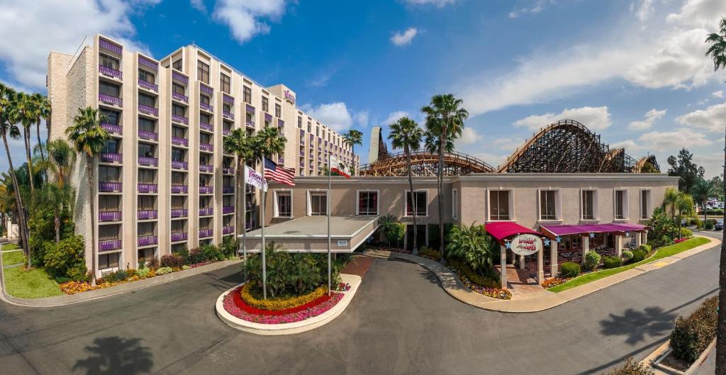 Knott's Berry Farm Hotel.
