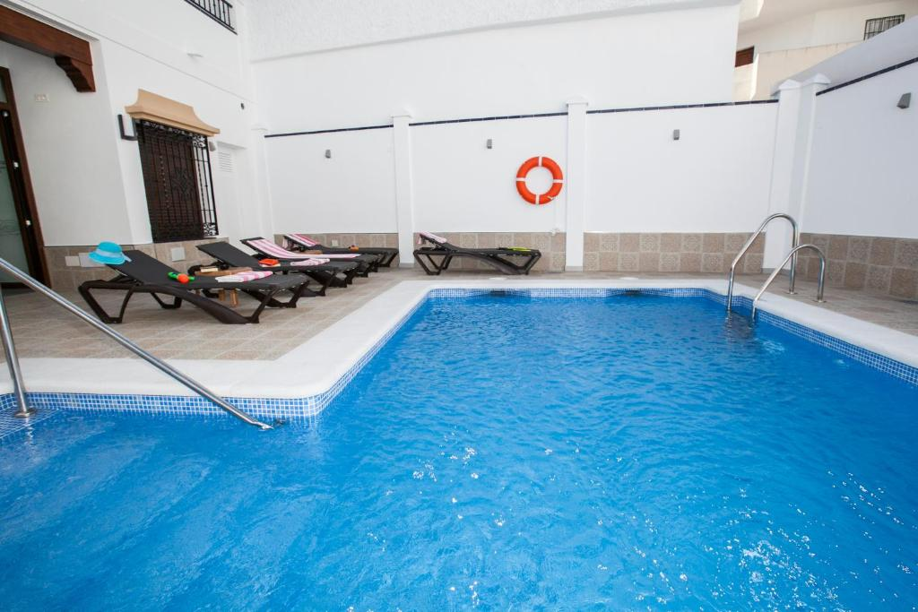The swimming pool at or near Hostal Boutique Bajamar