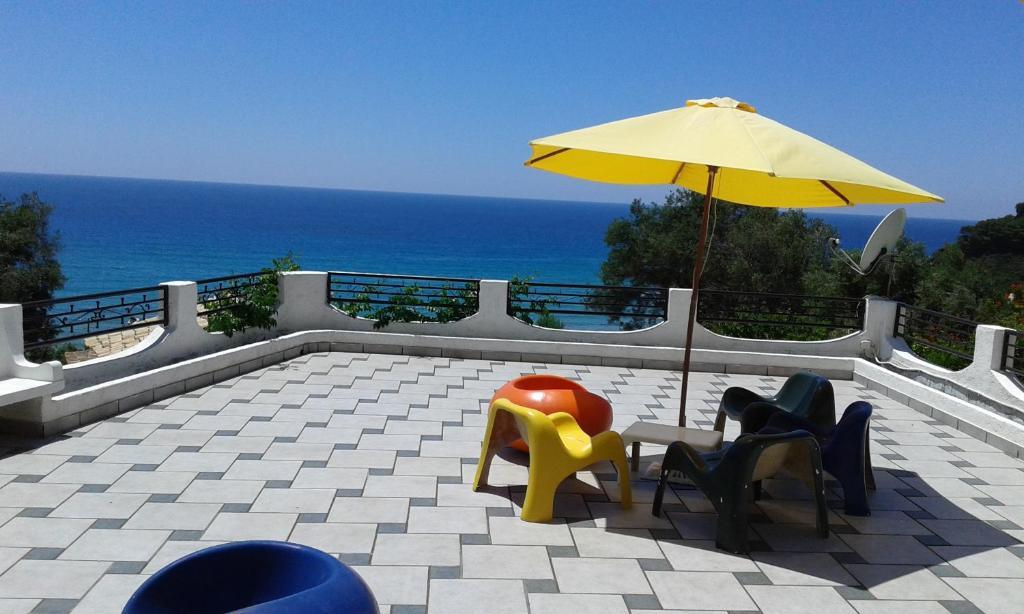 Balcone o terrazza di Akis Apartments