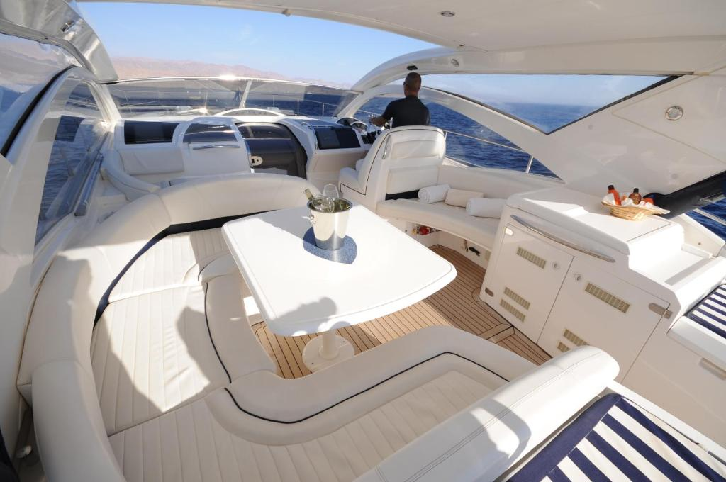 A balcony or terrace at Red Sea Yachts