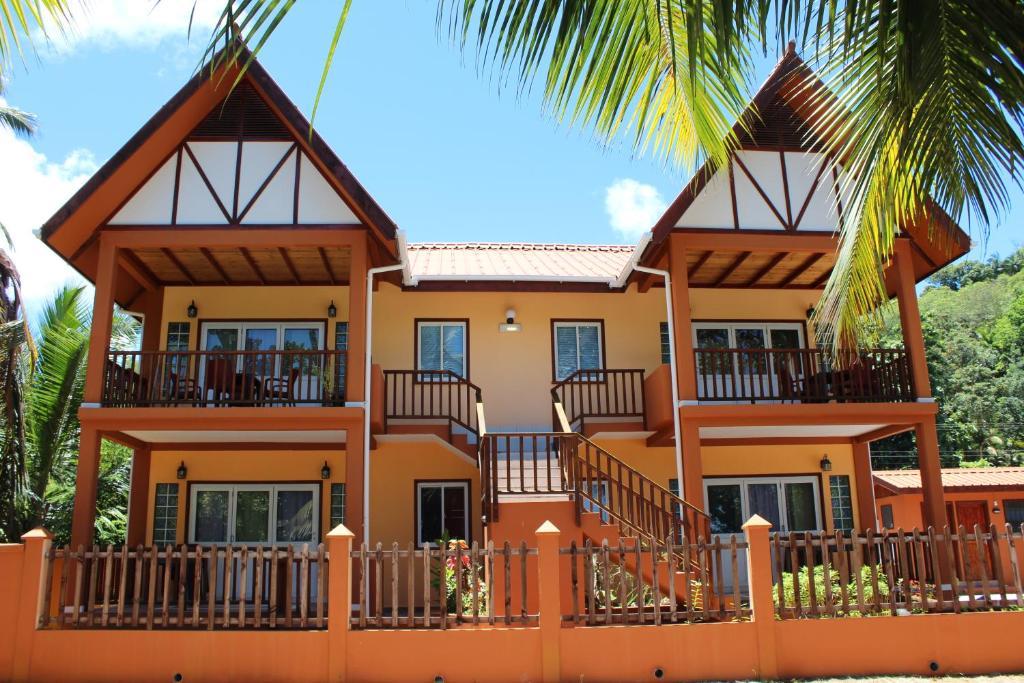 Apartment Green Blue Beach House Baie Lazare Mahe