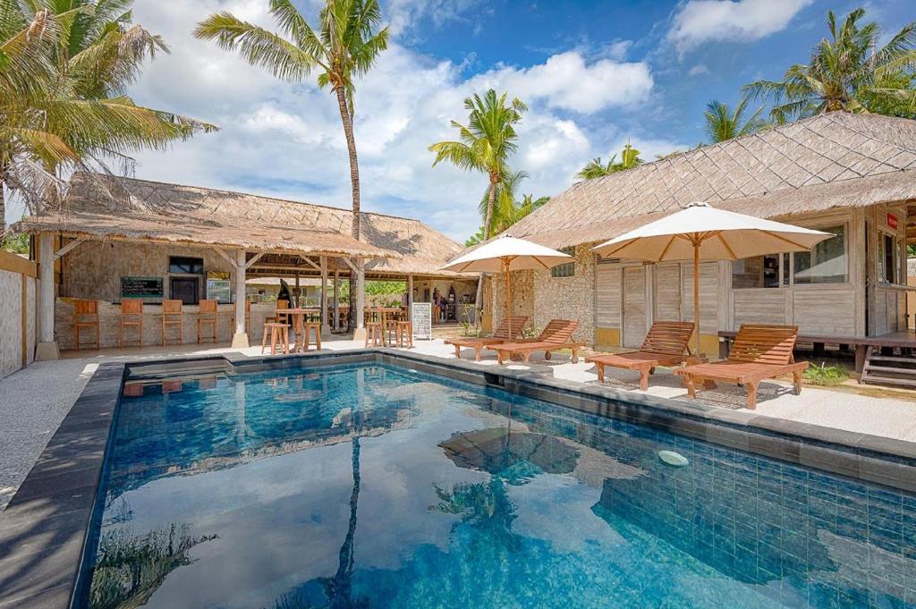Kolam renang di atau di dekat Planet Nomadas Resort