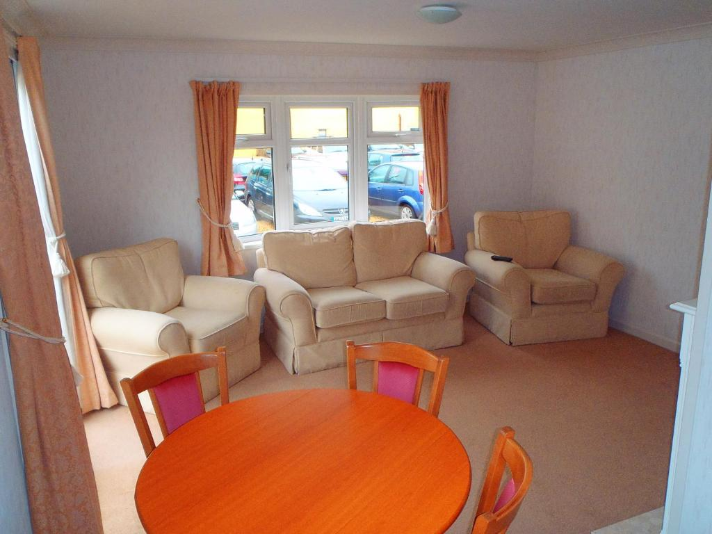 A seating area at Forge Accommodation