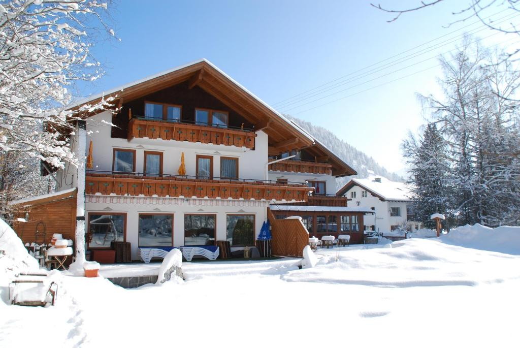 Hotel Anneliese during the winter