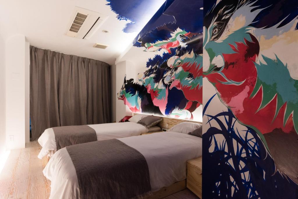 A room at Artist Hotel - BnA HOTEL Koenji