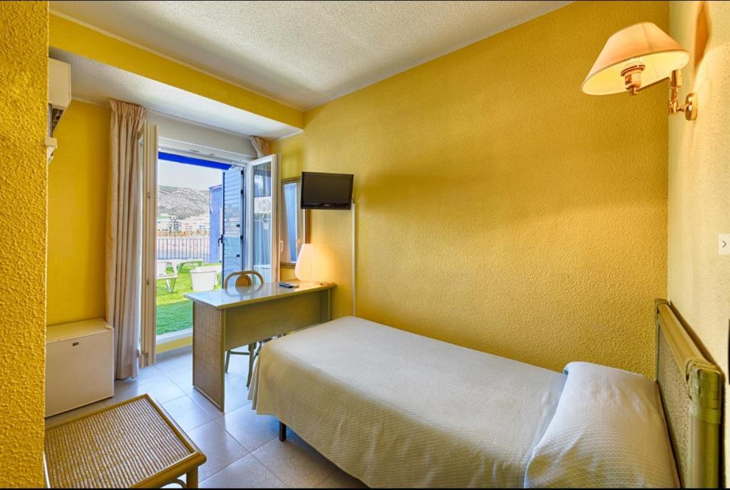 A room at Hotel Marina
