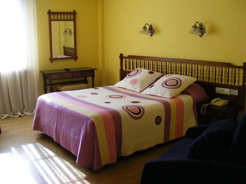Cama o camas de una habitación en PR Alameda