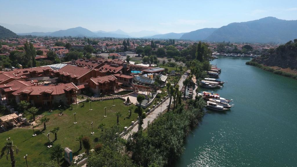 Een luchtfoto van Bc Spa Hotel