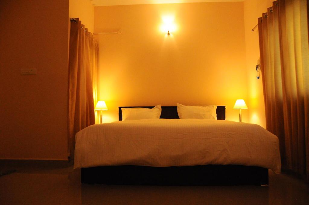 A room at Jyothi Suites