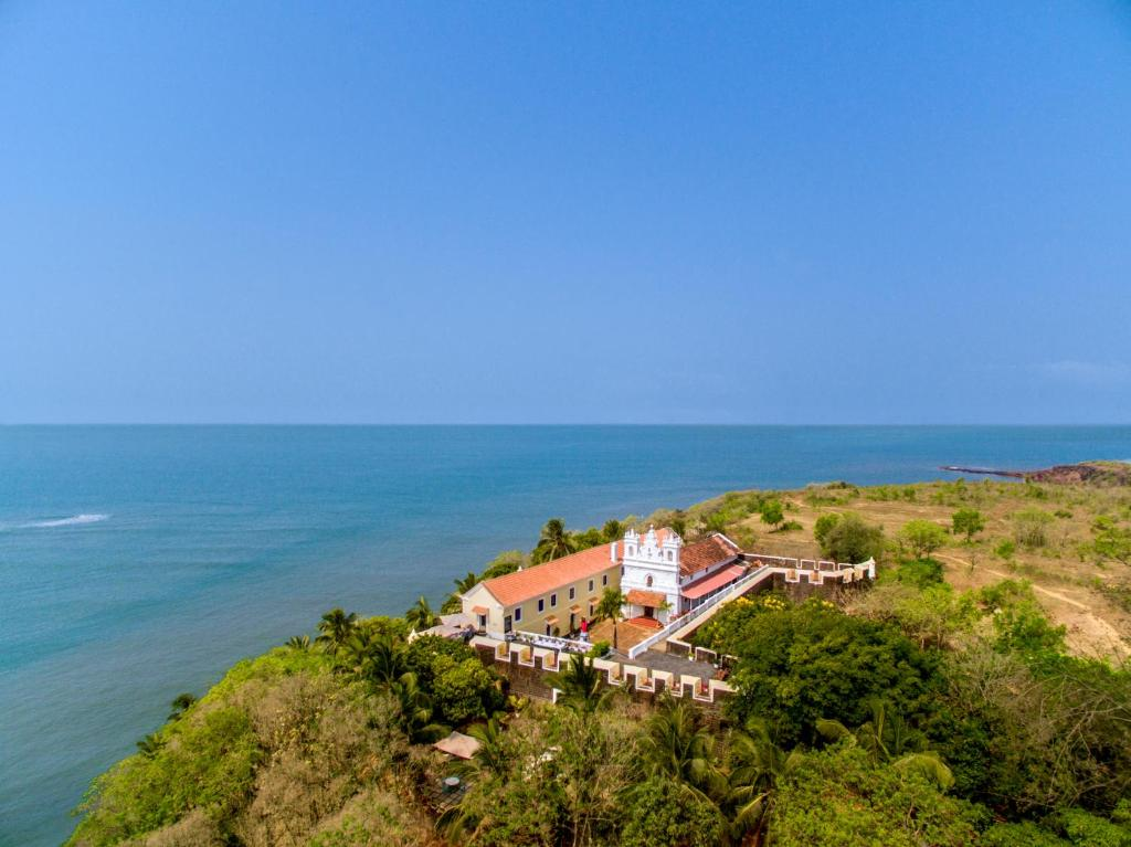 A bird's-eye view of Fort Tiracol Heritage Hotel