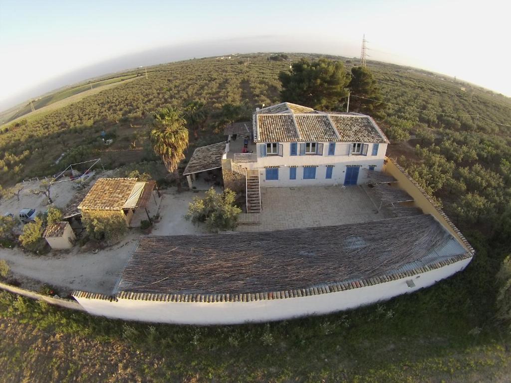 Vista aerea di Agriturismo Case Sgaraglino